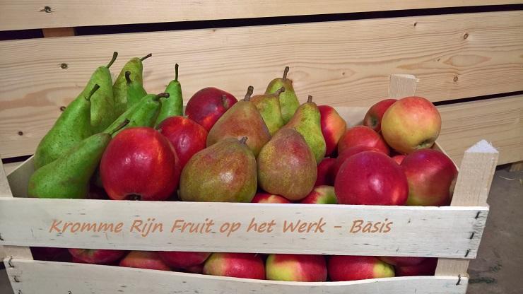 Fruit Op Kantoor : Alcoholvrij geschenk fruitmand met lekkers
